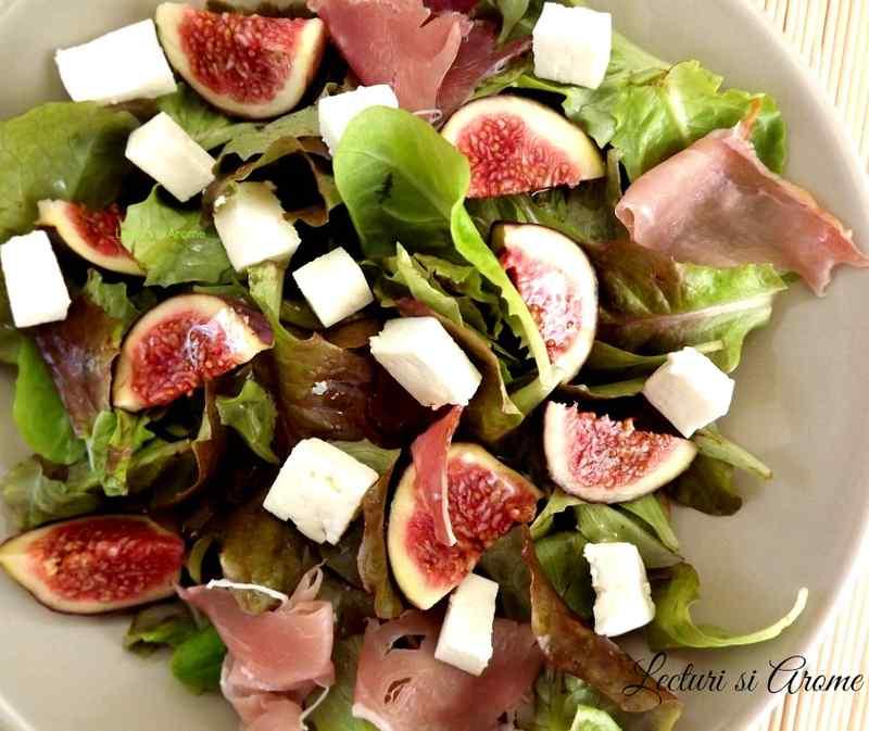 salata de smochine