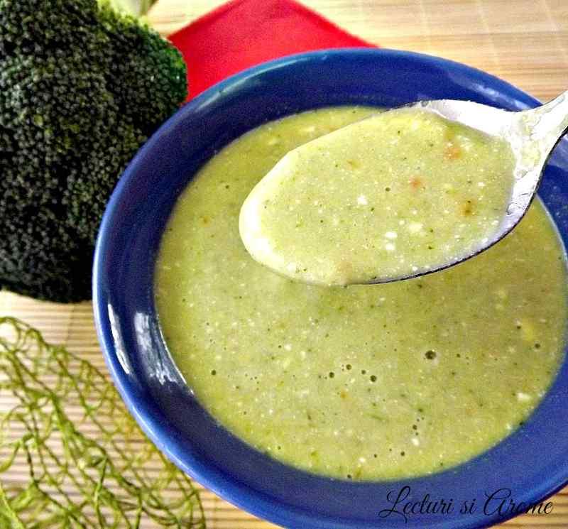 supa crema cu broccoli