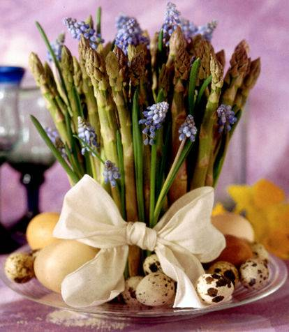 decorarea mesei festive