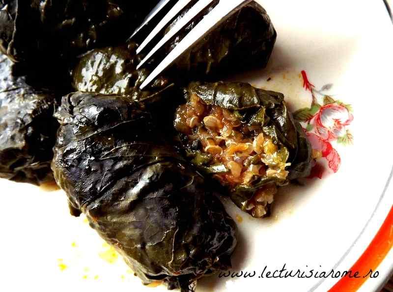 sarmale vegetariene cu quinoa