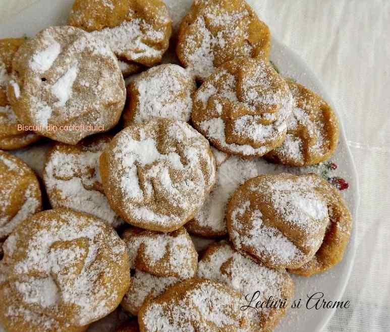 biscuiti din cartof dulce