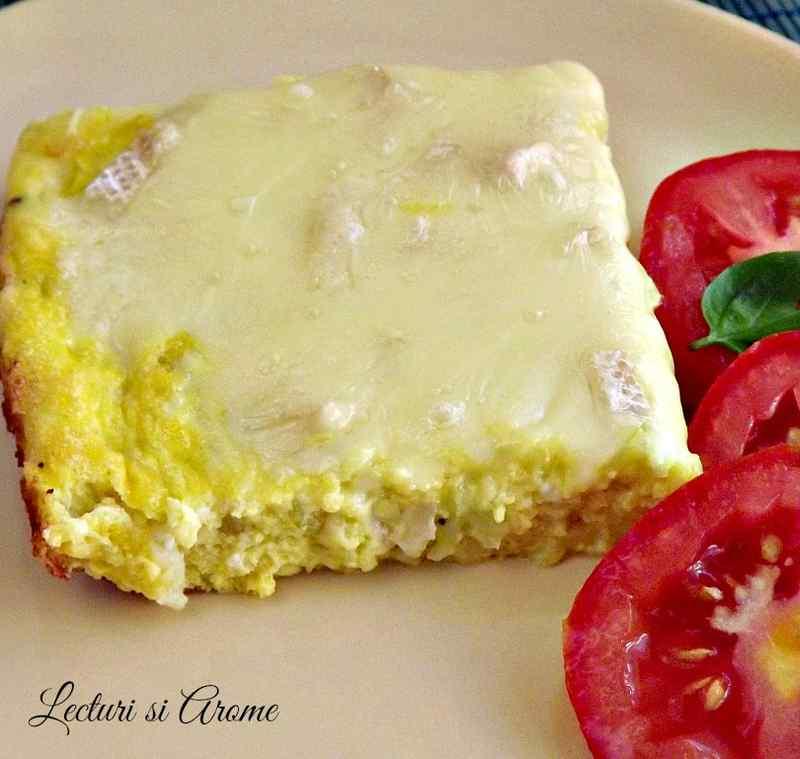 omleta la cuptor