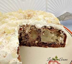 tort cu mere intregi caramelizate_1