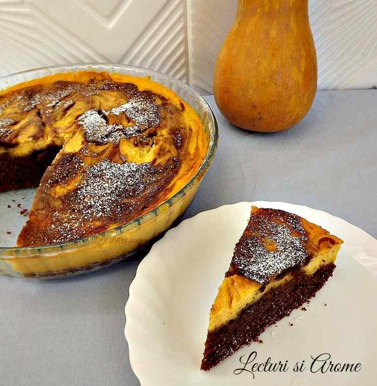 prajitura cu crema de branza