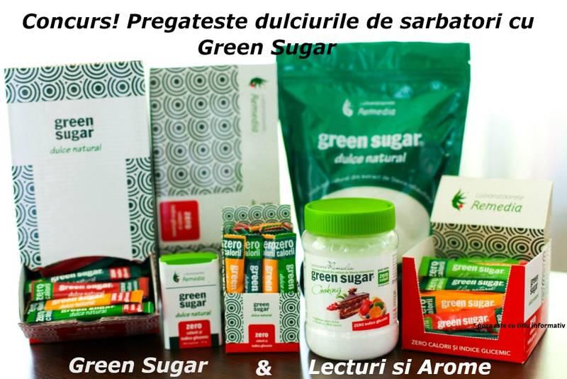 Concurs! Pregateste dulciurile de sarbatori cu Green Sugar