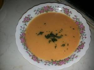 supa crema morcov