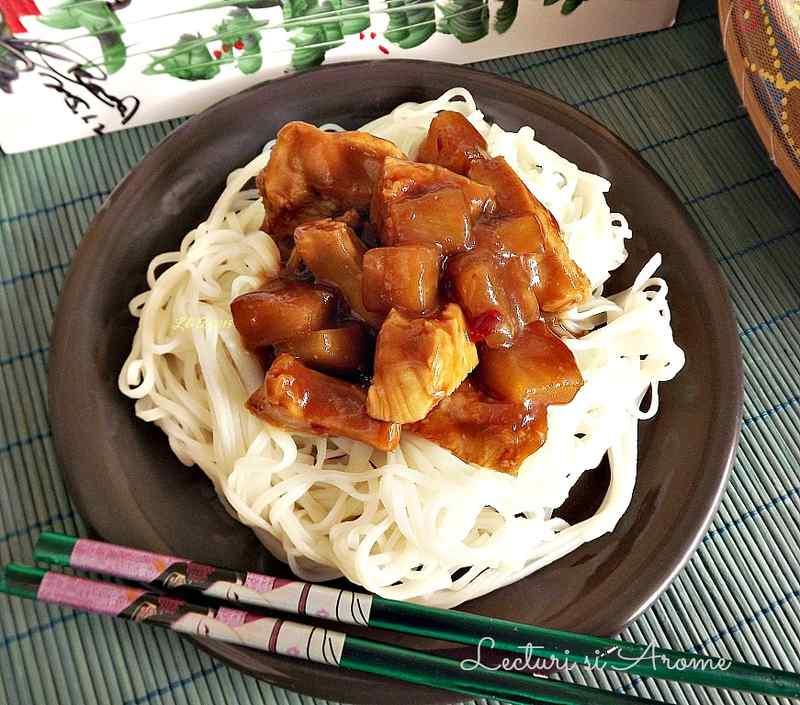 piept de pui cu sos teriyaki_1