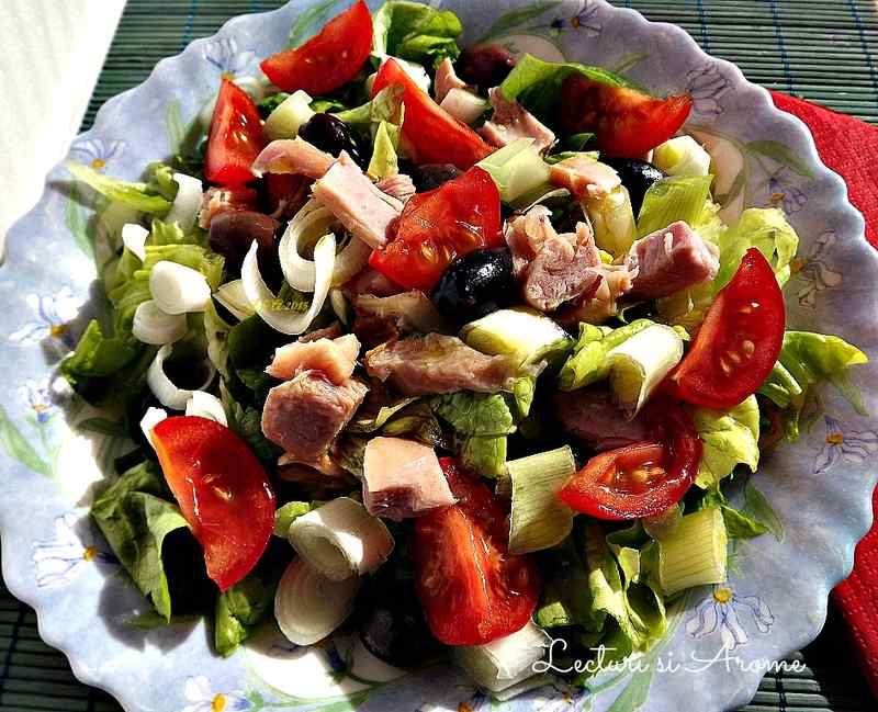 salata cu carne de pui