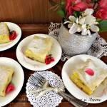 Cea mai simpla prajitura din foi de placinta cu iaurt si stafide