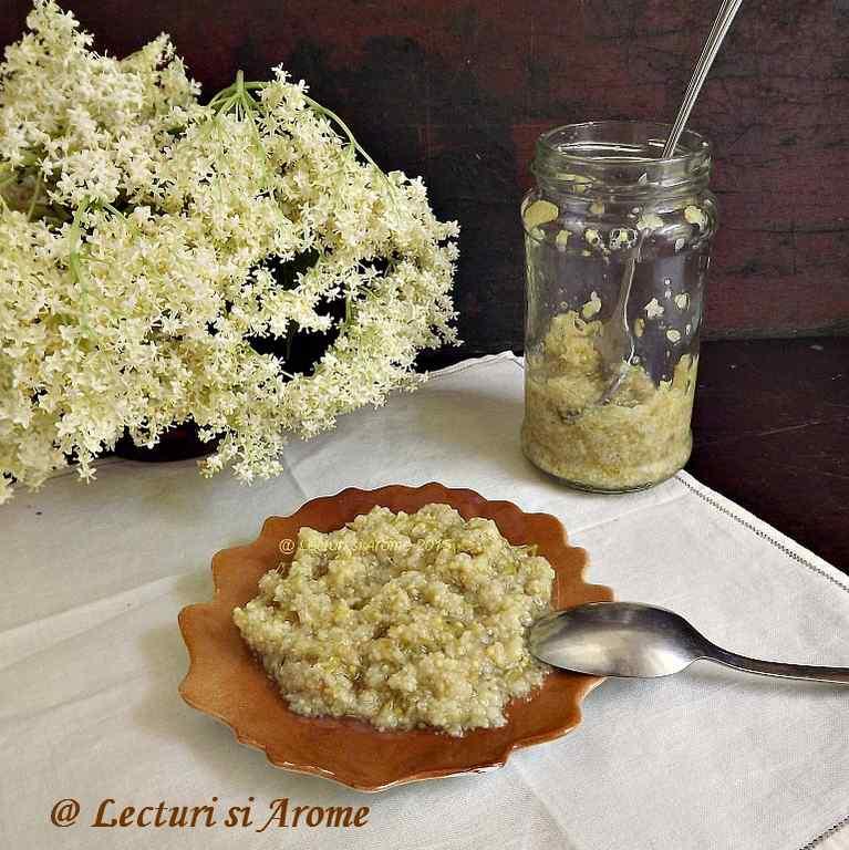 marmelada din flori de soc