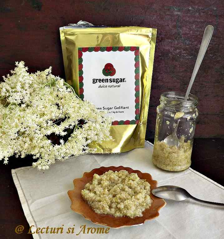 marmelada din flori de soc fara zahar