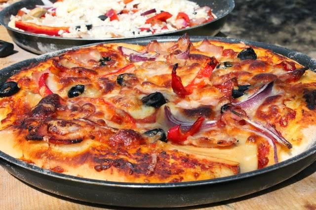 pizza pe vatra