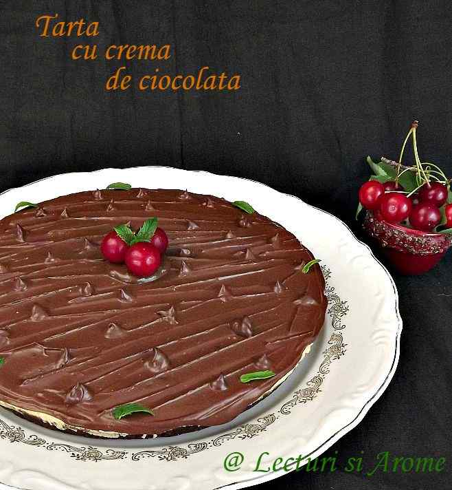 tarta cu crema de ciocolata