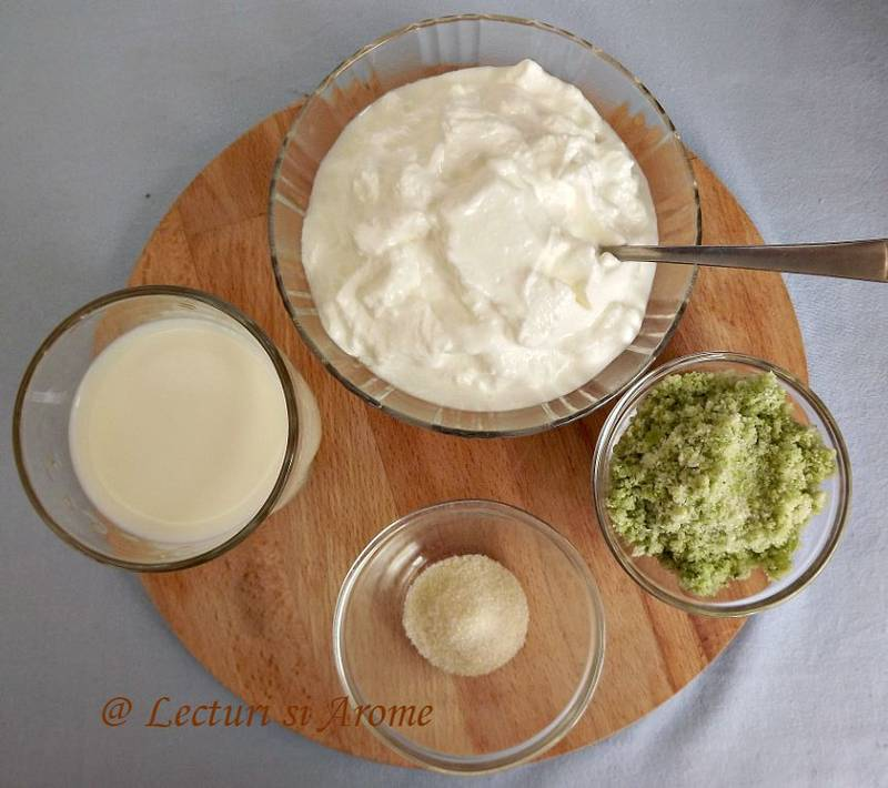 ingrediente panna cotta