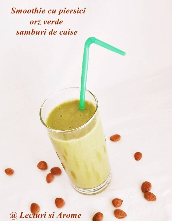 smoothie de piersici