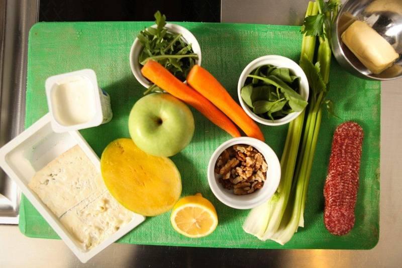 ingrediente sanrdwich