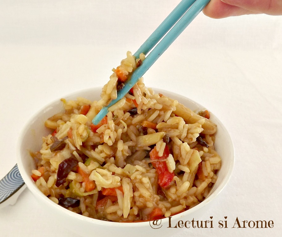 orez cu legume chinezesti