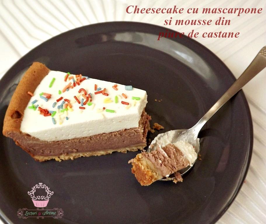 cheesecake cu mascarpone