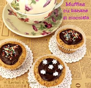 muffins cu banane