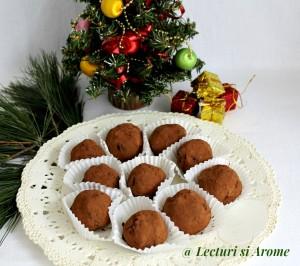 prajitura cartof cu merisoare