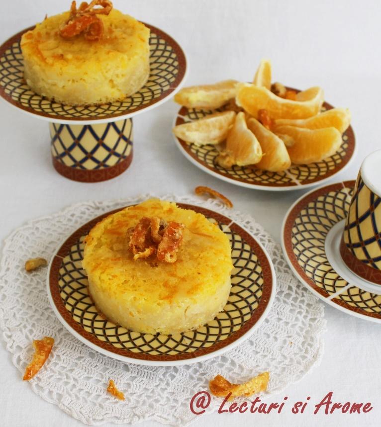 prajitura cu portocale
