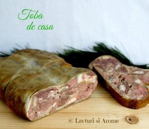 toba de casa din carne de porc