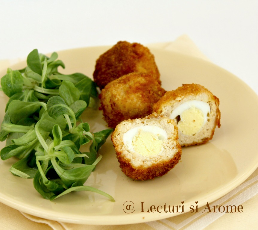 Oua scotiene (scotch eggs)