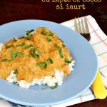 Curry de pui cu lapte de cocos si iaurt
