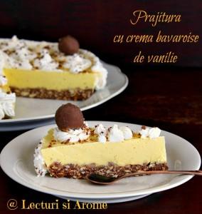 prajitura cu crema bavareza