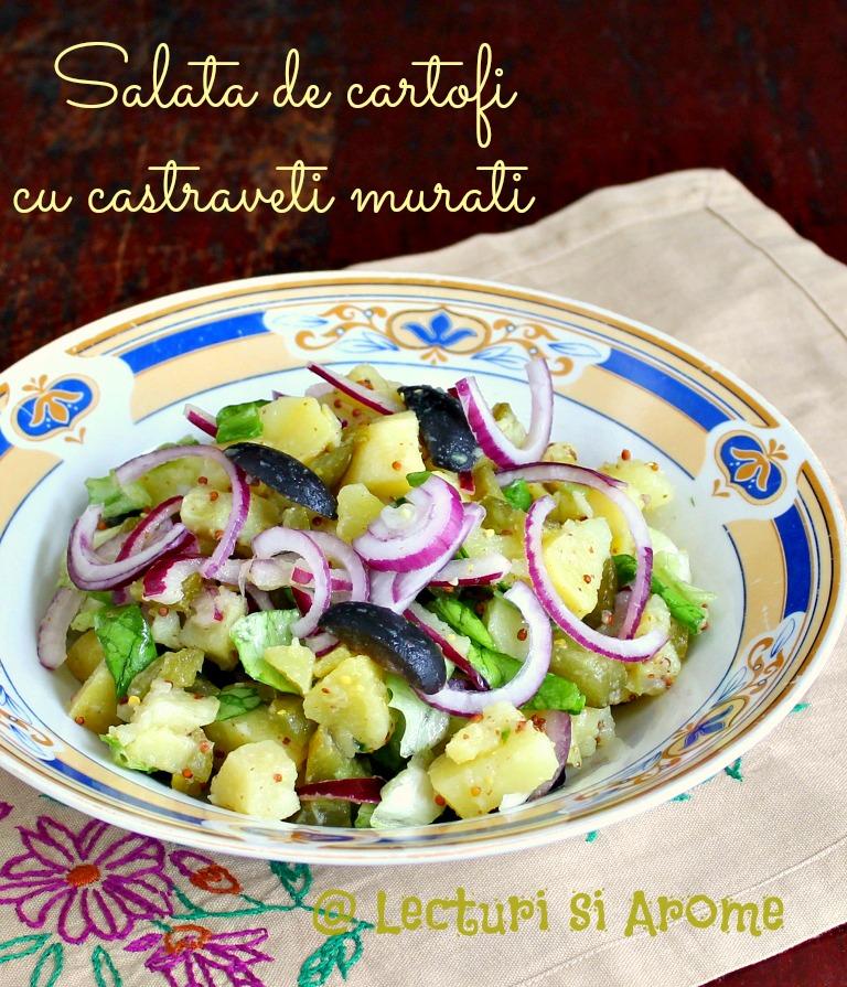 salata de cartofi cu castraveti murati