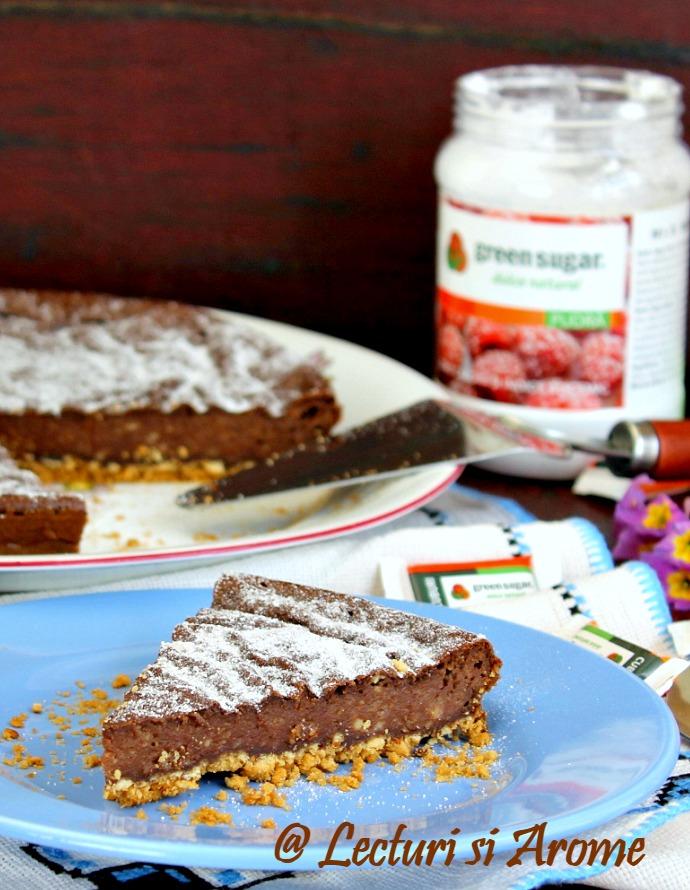 cheesecake cu ciocolata fara zahar
