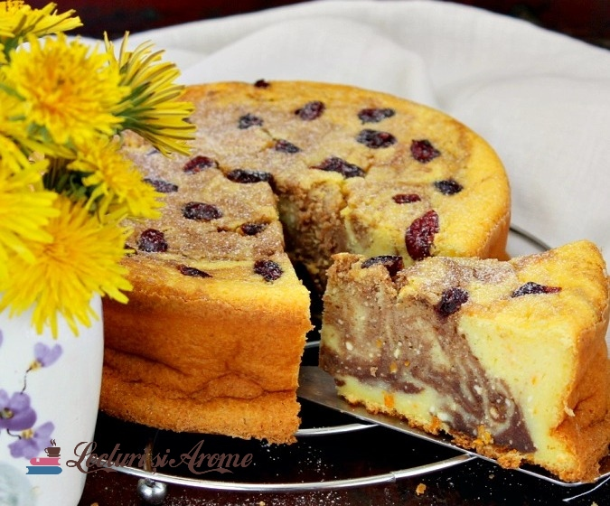 pasca marmorata cheesecake marmorat