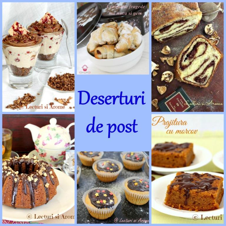 10 deserturi de post delicioase si usor de facut