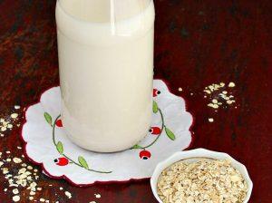 lapte de ovaz in casa
