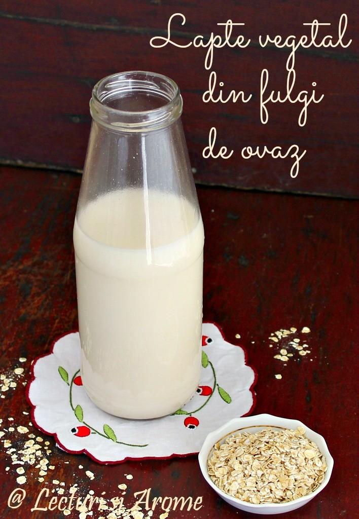 lapte de ovaz