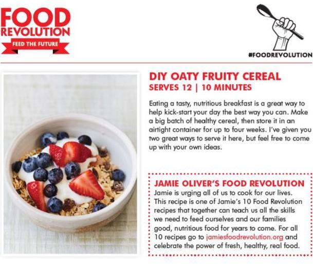 diy oats Jamie Oliver