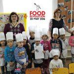 Primul atelier de gatit pentru copii – Food Revolution Day 2016