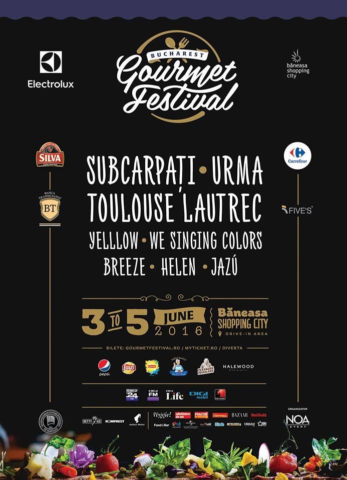 program Bucharest Gourmet Festival