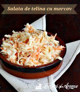 salata de telina cu morcov