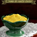 Crema de vanilie clasica (crème patissière)