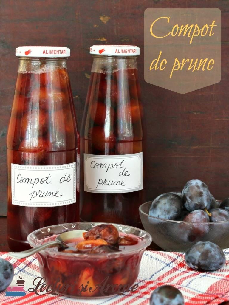 compot de prune intregi