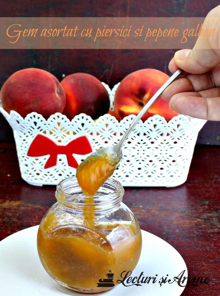 gem asortat cu pepene galben
