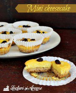mini cheesecake lecturi si arome