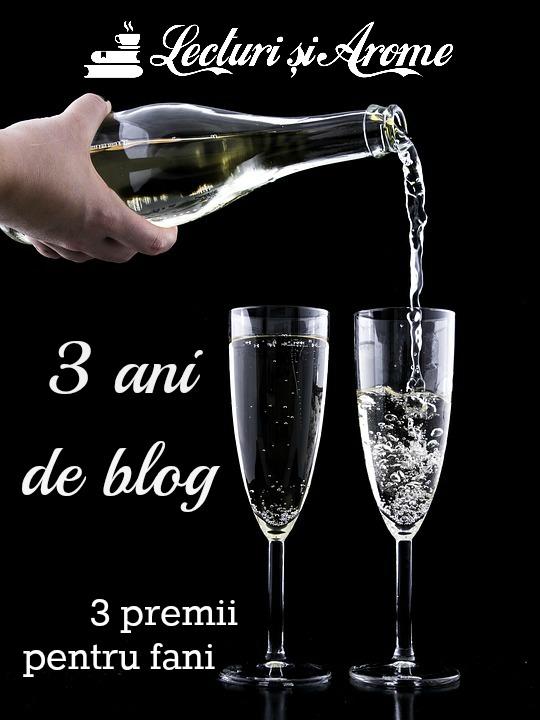 3 ani de blog Lecturi si Arome
