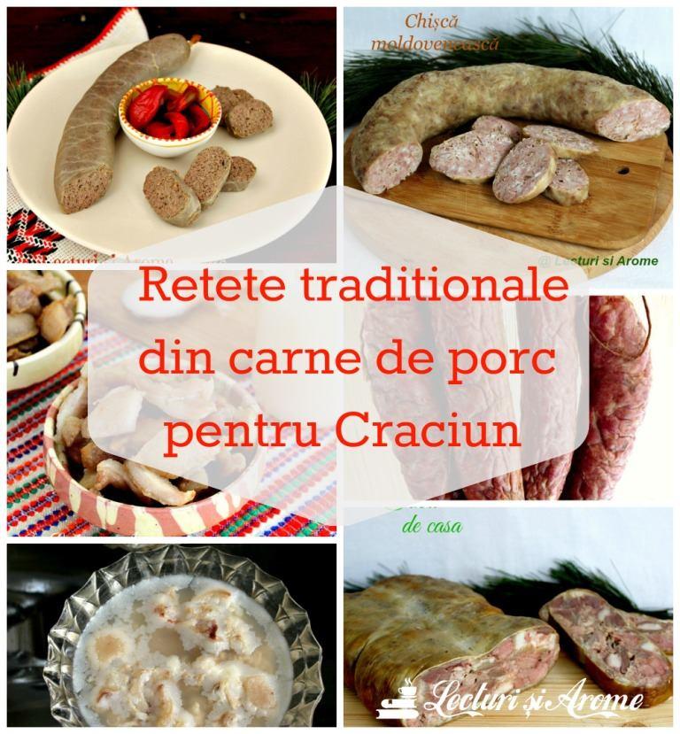 Retete traditionale din carne de porc pentru Craciun