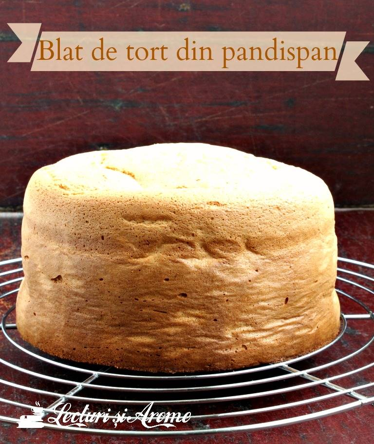 blat de tort din pandispan