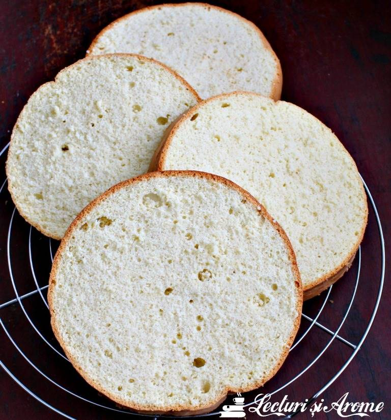 blat de tort sectiune