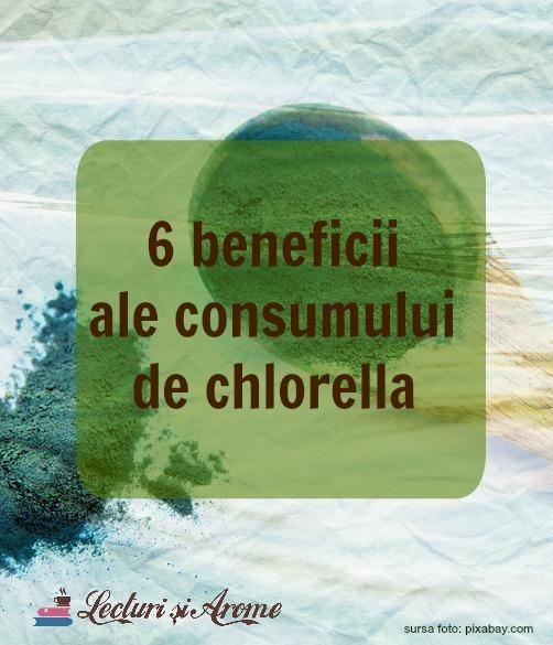 beneficii ale consumului de chlorella