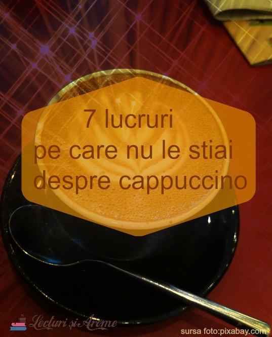 lucruri pe care nu le stiati despre cappuccino