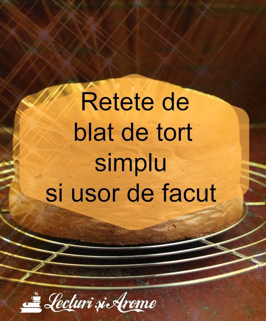 retete de blat de tort simplu